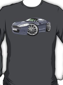 James Bond Aston Martin DBS V12 caricature T-Shirt