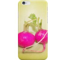 Little Radishes Photo iPhone Case/Skin