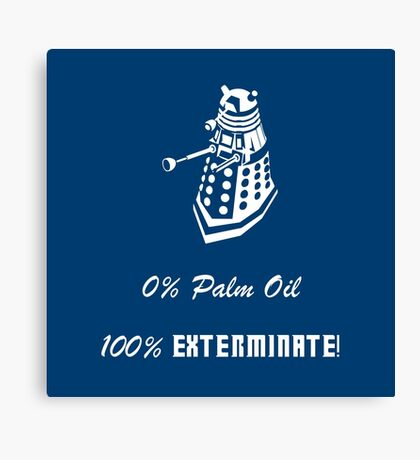 Dalek composition Canvas Print