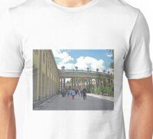 Colonnade, San Souci Palace, Potsdam, Germany Unisex T-Shirt