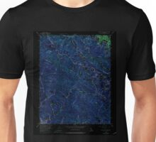USGS TOPO Map California CA Castle Rock Ridge 289046 1955 24000 geo Inverted Unisex T-Shirt