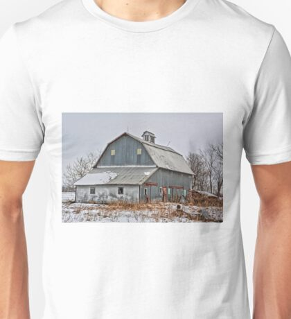 Winter On The Farm 4 Unisex T-Shirt