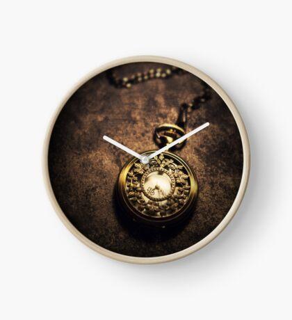 Ornamented pocket watch Clock