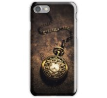 Ornamented pocket watch iPhone Case/Skin
