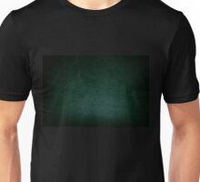Dark green leather texture abstract  Unisex T-Shirt