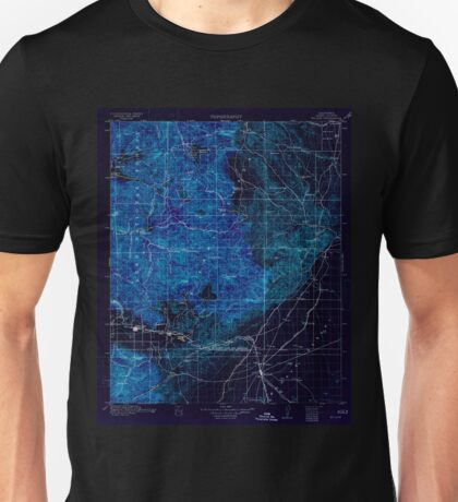 USGS TOPO Map California CA Mojave 299463 1915 125000 geo Inverted Unisex T-Shirt