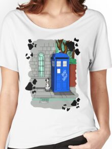 Police Public Call Dog Women's Relaxed Fit T-Shirt