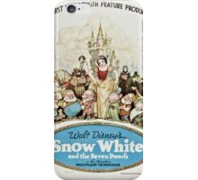 Snow white movie poster iPhone Case/Skin