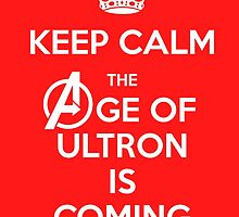 Keep Calm - The Age Of Ultron is Coming by FallenAngelGM
