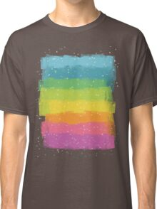 Rainbow chalk Classic T-Shirt