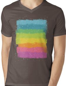 Rainbow chalk Mens V-Neck T-Shirt