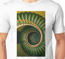 Spiral stairs in green Unisex T-Shirt