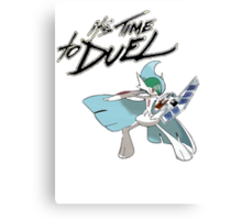 it's time to duel Canvas Print