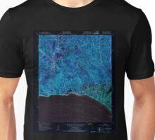 USGS TOPO Map California CA Topanga 300896 1952 24000 geo Inverted Unisex T-Shirt