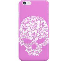 Hibiscus Skull iPhone Case/Skin