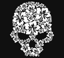 Hibiscus Skull Kids Clothes