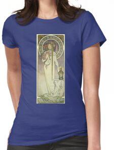 La dame aux camelias Womens Fitted T-Shirt