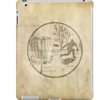 disc golfer iPad Case/Skin
