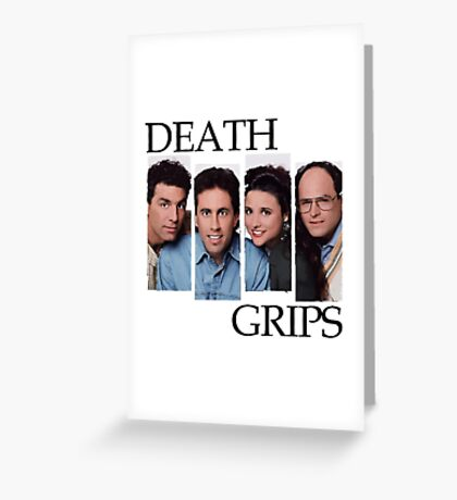 Death Grips White Greeting Card