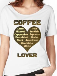 Coffee Lover Women's Relaxed Fit T-Shirt