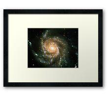 Pinwheel Galaxy [Original Version] | Sacred Geometry Pattern Framed Print