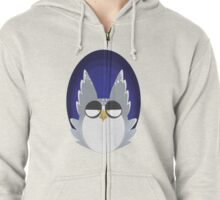 Just An Owl Zipped Hoodie