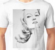 Rita Hayworth Minimal Portrait Unisex T-Shirt