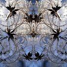 Beyond snow swirls by crystalline