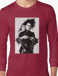 Depp + Ryder / Edward Scissorhands Long Sleeve T-Shirt