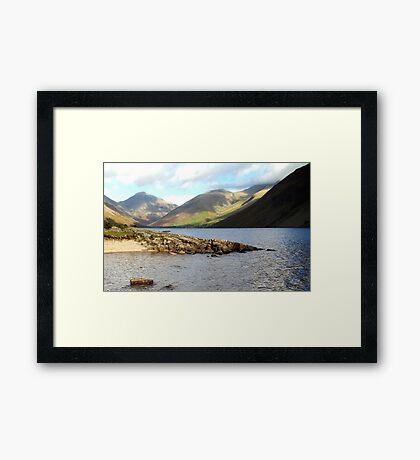 Wast Water, Lake District National Park, UK Framed Print