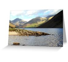 Wast Water, Lake District National Park, UK Greeting Card