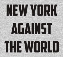 New York Against The World by printandroll