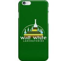 Walt White Laboratories  iPhone Case/Skin