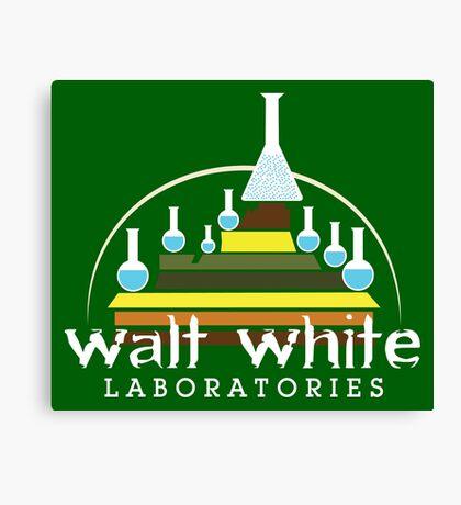 Walt White Laboratories  Canvas Print