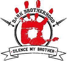 Dark Brotherhood - White Photographic Print