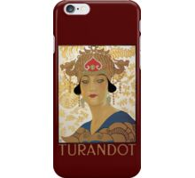 Turandot iPhone Case/Skin