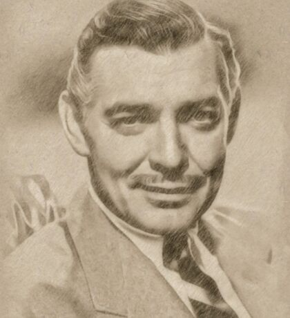 Clark Gable, Actor Sticker