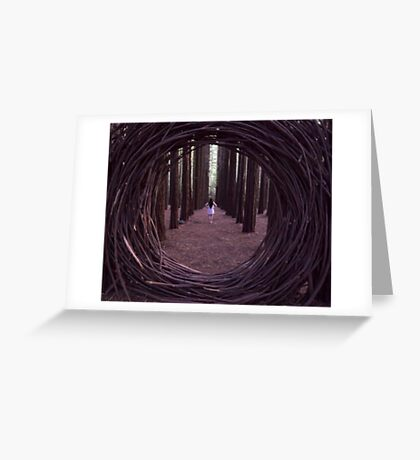 Forest Portal Greeting Card