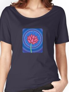 Splendid Calm Lotus Flower Women's Relaxed Fit T-Shirt
