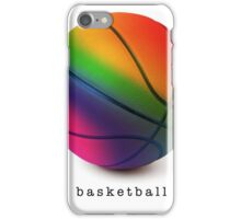 Rainbow Basketball iPhone Case/Skin