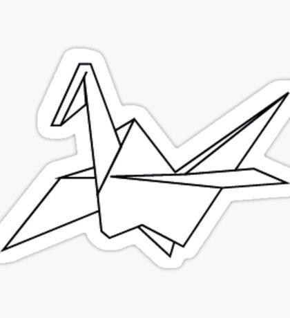 Cranebirds Sticker