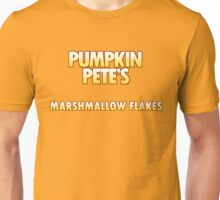 Pumpkin Pete's marshmallow flakes (plain) Unisex T-Shirt