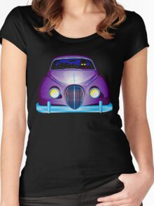 Carpool Cats Women's Fitted Scoop T-Shirt