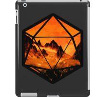 D20 Fireplane iPad Case/Skin