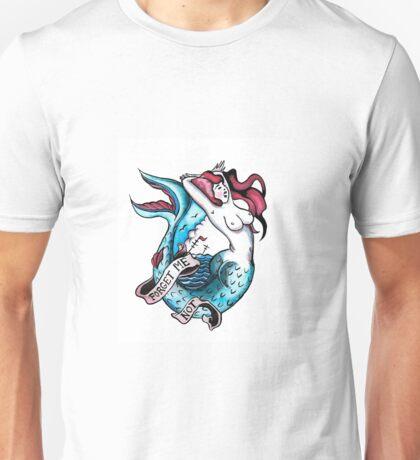 Forget Me Not Mermaid Unisex T-Shirt
