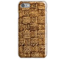 HEMP PATTERN iPhone Case/Skin