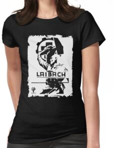 Laibach, Industrial music Womens Fitted T-Shirt