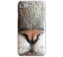 Closeup Kitty Cat Nose  iPhone Case/Skin