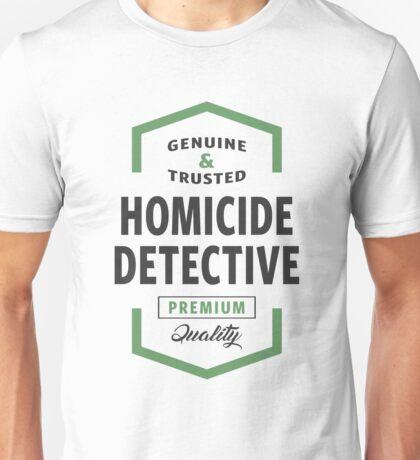 Homicide Detective Logo Gifts Unisex T-Shirt