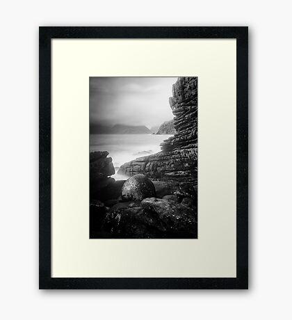 Seascape Elgol, Skye 1 Framed Print